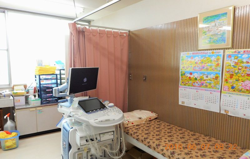 有秋台医院診察室